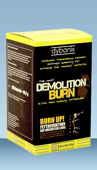 Fatburner Demolition Burn