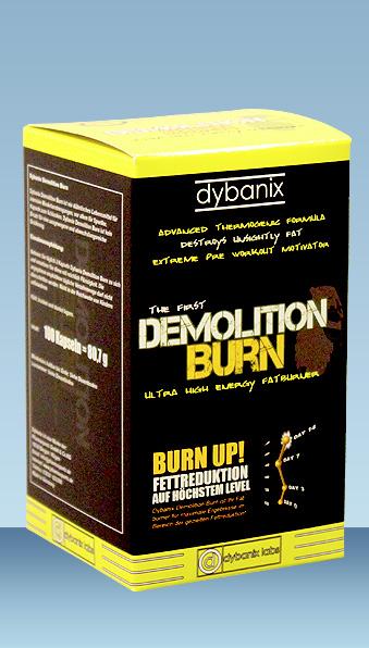 Fatburner Demolition Burn